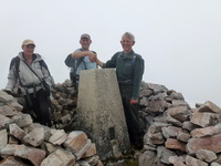 1463 Beinn Bheigier (Jen Rick and Gordon Ingall 1200th Marilyn) © Douglas Law